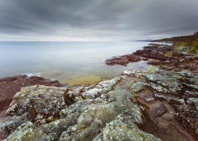 Lake Superior's Rocky Shoreline
